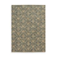 Oriental Weavers Harper Medallion Damask 5-Foot 3-Inch x 7-Foot 6-Inch Area Rug in Beige
