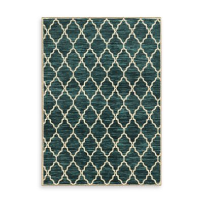 Teal Area Rugs From Bed Bath Beyond