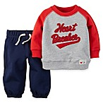 carter's® Size 6M 2-Piece  Heartbreaker  Long Sleeve Shirt and Pant Set