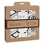 Petunia Pickle Bottom® by aden + anais® 3-Pack Swaddle in Siesta Sienna