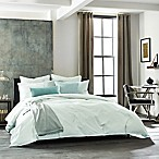 Kenneth Cole New York Escape Full/Queen Duvet Cover in Sea Green
