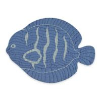 Quilted Fish Placemat in Blue