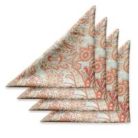 Tommy Bahama East India Paisley Napkins in Natural (Set of 4)