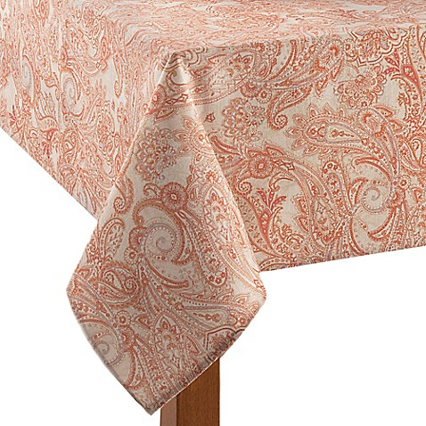Buy tommy bahama east india paisley 52 inch x 70 inch for Table linens 52 x 70