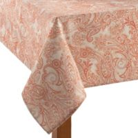 Tommy Bahama East India Paisley 52-Inch x 70-Inch Oblong Tablecloth in Natural