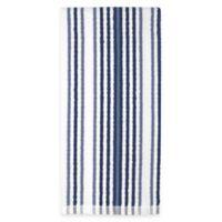 Kitchensmart® Cotton Stripe Kitchen Towel in Navy Multi