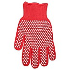 Super Glove™ with Silicone Dots in Red