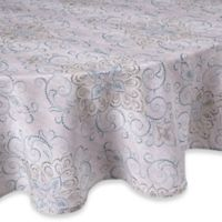 Lenox® French Perle Charm 70-Inch Round Tablecloth