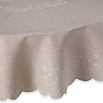 Lenox® French Perle 70-Inch Round Tablecloth in Linen