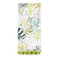 Sam Hedaya Tropical Foliage Tea Towel