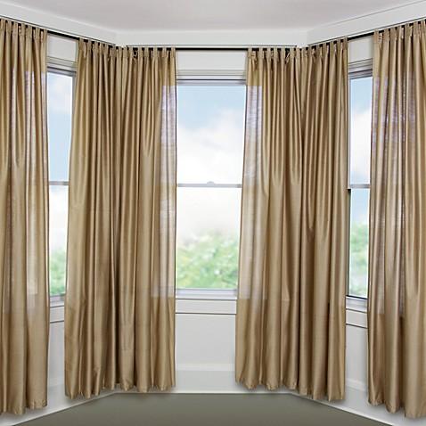 umbra solutions bayview black window set bed bath beyond. Black Bedroom Furniture Sets. Home Design Ideas