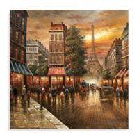 Paris Nights Canvas Wall Art
