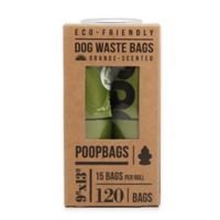 Scented PoopBags 120-Pack of 3-Paw Rated Dog Waste Bags