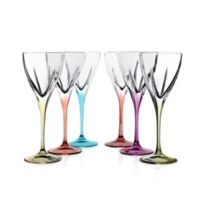 Lorren Home Trends Fusion Cordial Glasses in Multi (Set of 6)