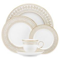 Marchesa by Lenox® Gilded Pearl 5-Piece Place Setting
