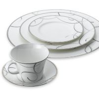 Nikko Elegant Swirl 5-Piece Place Setting