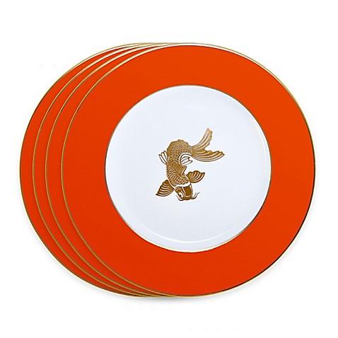 Tinsley Mortimer Koi Dinner Plates in Orange (Set of 4)  sc 1 st  Bed Bath \u0026 Beyond & Tinsley Mortimer Koi Dinner Plates in Orange (Set of 4) - Bed Bath ...