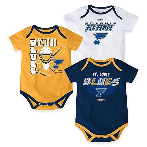"""NHL St Louis Blues """"3 Point Spread"""" Bodysuit Set Set of"""