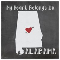 "Thirstystone® ""My Heart Belongs in Alabama"" Coasters (Set of 4)"