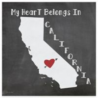 "Thirstystone® ""My Heart Belongs in California"" Coasters (Set of 4)"