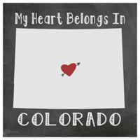 "Thirstystone® ""My Heart Belongs in Colorado"" Coasters (Set of 4)"