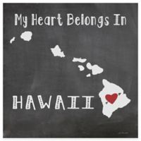 "Thirstystone® ""My Heart Belongs in Hawaii"" Coasters (Set of 4)"