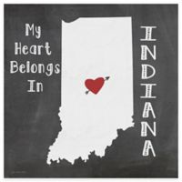 "Thirstystone® ""My Heart Belongs in Indiana"" Coasters (Set of 4)"