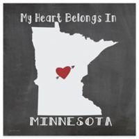 "Thirstystone® ""My Heart Belongs in Minnesota"" Coasters (Set of 4)"