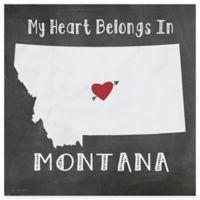 "Thirstystone® ""My Heart Belongs in Montana"" Coasters (Set of 4)"