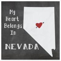 "Thirstystone® ""My Heart Belongs in Nevada"" Coasters (Set of 4)"