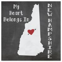 """Thirstystone® """"My Heart Belongs in New Hampshire"""" Coasters (Set of 4)"""