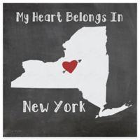 "Thirstystone® ""My Heart Belongs in New York"" Coasters (Set of 4)"