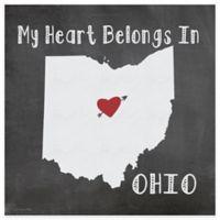 "Thirstystone® ""My Heart Belongs in Ohio"" Coasters (Set of 4)"