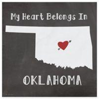 "Thirstystone® ""My Heart Belongs in Oklahoma"" Coasters (Set of 4)"