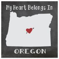 "Thirstystone® ""My Heart Belongs in Oregon"" Coasters (Set of 4)"