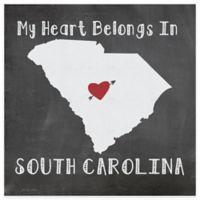 "Thirstystone® ""My Heart Belongs in South Carolina"" Coasters (Set of 4)"