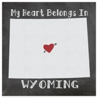"Thirstystone® ""My Heart Belongs in Wyoming"" Coasters (Set of 4)"