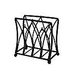 Mesa Mystic Iron Napkin Holder in Antique Black