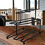 Mesa Design 6-Bottle Wine Rack in Antique Black