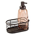 InterDesign® Forma Soap Pump Caddy in Bronze