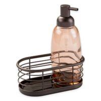 InterDesign® Forma Soap Pump Caddy in Bronze