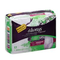 Always® Discreet 17-Count Large Maximum Underwear for Incontinence