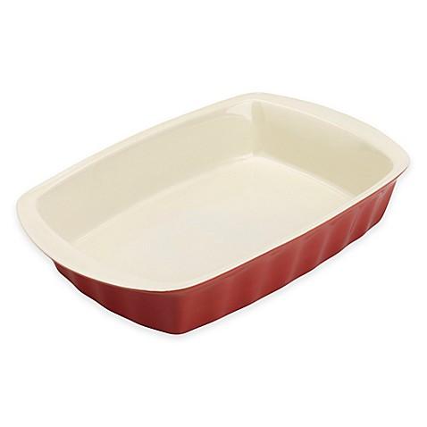 Bradshaw Large Rectangular 3 Qt Ceramic Baking Dish In