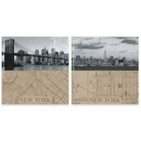 Thirstystone® NYC Maps Coasters (Set of 4)