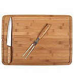 3-Piece Bamboo Carving Board Set