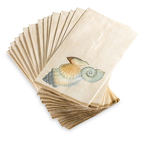 Seychelles Disposable Buffet Guest Towels By Croscill Set Of 16 Bed Bath Beyond