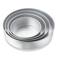 Wilton® Performance™ Aluminum 4-Piece Round Pan Set