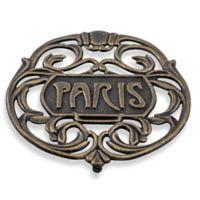 "Old Dutch International ""Paris"" Trivet in Antique Gold"