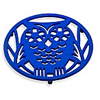 Old Dutch International Wise Owl Trivet in Dazzling Blue