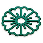 Old Dutch International Bloom Trivet in Emerald Green